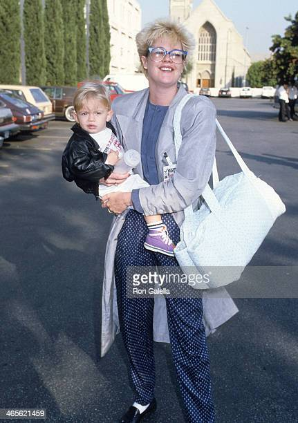 Actress Melanie Griffith and son Alexander Bauer attend 'Vote Yes on Proposition 65' Benefit to Support the Toxic Waste Initiative on September 26...