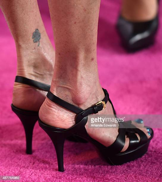 Actress Melanie Griffith arrives at the 2014 Power Of Pink An Acoustic Evening With Pnk And Friends event at The House of Blues Sunset Strip on...