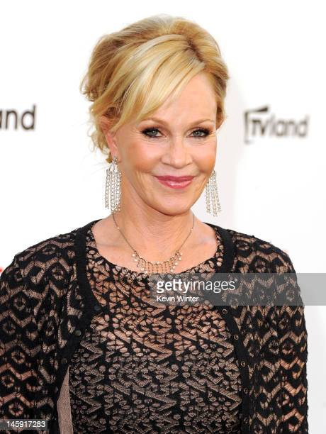 Actress Melanie Griffith arrives at the 40th AFI Life Achievement Award honoring Shirley MacLaine held at Sony Pictures Studios on June 7 2012 in...