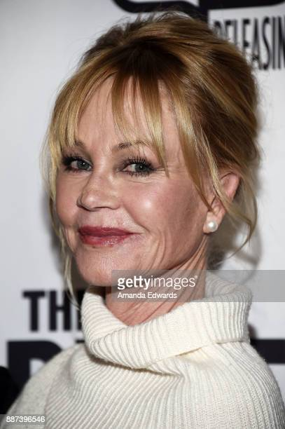 Actress Melanie Griffith arrives at the premiere of Front Row Filmed Entertainment's 'The Pirates Of Somalia' at the TCL Chinese 6 Theatres on...