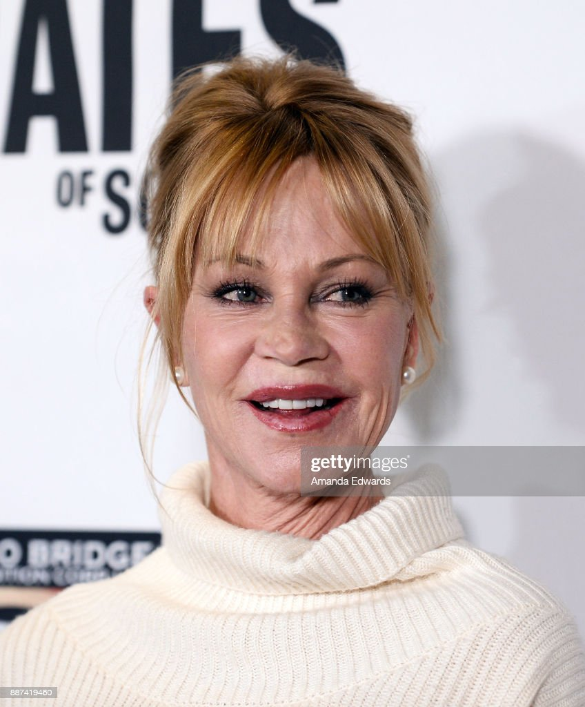 Actress Melanie Griffith arrives at the premiere of Front Row Filmed Entertainment's 'The Pirates Of Somalia' at the TCL Chinese 6 Theatres on December 6, 2017 in Hollywood, California.