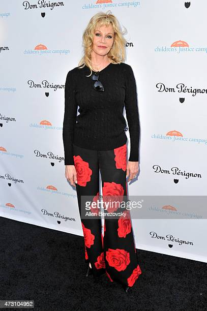 Actress Melanie Griffith attends Children's Justice Campaign Event on May 12 2015 in Beverly Hills California