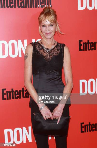 Actress Melanie Griffith attends 'Don Jon' New York Premiere at SVA Theater on September 12 2013 in New York City