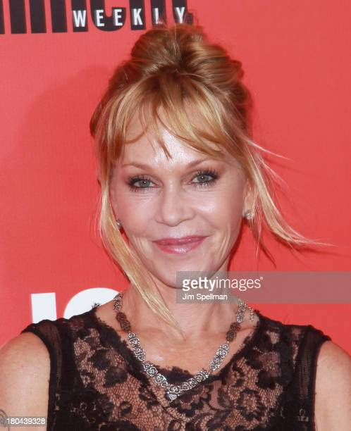 Actress Melanie Griffith attends Don Jon New York Premiere at SVA Theater on September 12 2013 in New York City