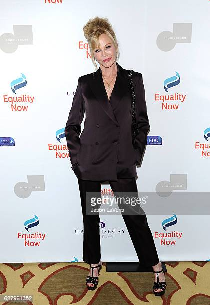 Actress Melanie Griffith attends Equality Now's 3rd annual Make Equality Reality gala at Montage Beverly Hills on December 5 2016 in Beverly Hills...
