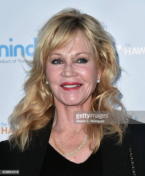 Actress Melanie Griffith attends Goldie Hawn's Annual Goldie's Love In For Kids on May 06, 2016 in Beverly Hills, California.