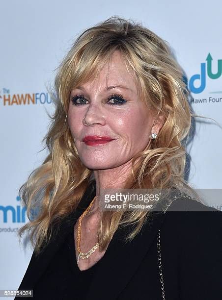 Actress Melanie Griffith attends Goldie Hawn's Annual Goldie's Love In For Kids on May 06 2016 in Beverly Hills California