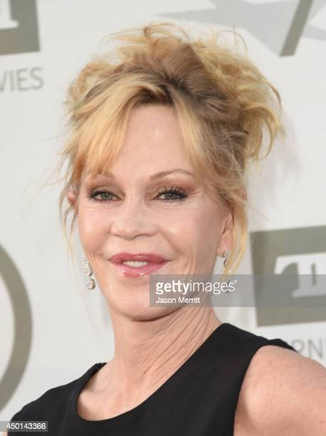 Actress Melanie Griffith attends the 2014 AFI Life Achievement Award A Tribute to Jane Fonda at the Dolby Theatre on June 5 2014 in Hollywood...