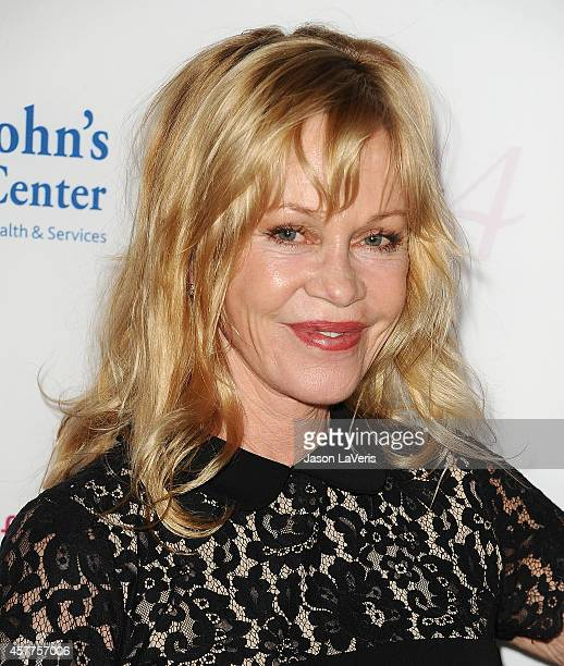 Actress Melanie Griffith attends the 2014 Power of Pink at House of Blues Sunset Strip on October 23 2014 in West Hollywood California