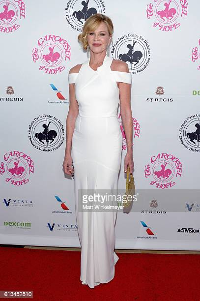 Actress Melanie Griffith attends the 2016 Carousel Of Hope Ball at The Beverly Hilton Hotel on October 8 2016 in Beverly Hills California