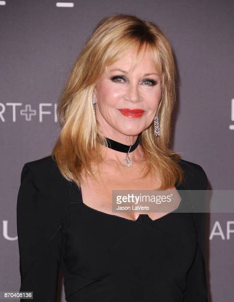 Actress Melanie Griffith attends the 2017 LACMA Art Film gala at LACMA on November 4 2017 in Los Angeles California