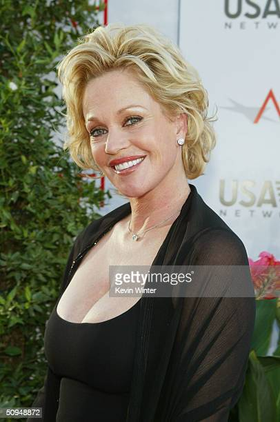 """Actress Melanie Griffith attends the """"32nd Annual AFI Lifetime Achievement Award: A Tribute to Meryl Streep"""" held at the Kodak Theatre, June 10, 2004..."""