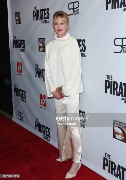 Actress Melanie Griffith attends the premiere of 'The Pirates Of Somalia' at The TCL Chinese 6 Theatres on December 6 2017 in Hollywood California
