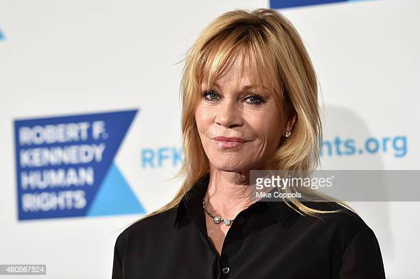 Actress Melanie Griffith attends the RFK Ripple Of Hope Gala at Hilton Hotel Midtown on December 16 2014 in New York City