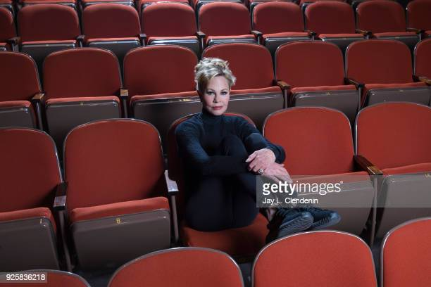 Actress Melanie Griffith is photographed for Los Angeles Times on February 20 2018 in Laguna Beach California PUBLISHED IMAGE CREDIT MUST READ Jay L...