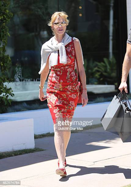 Actress Melanie Griffith is seen on July 23 2014 in Los Angeles California