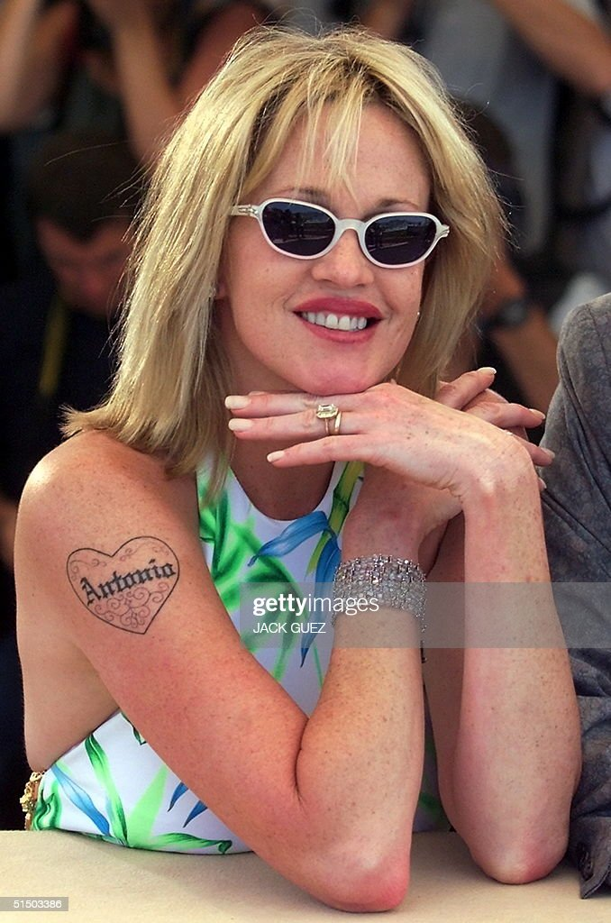 US actress Melanie Griffith poses during the photo : News Photo