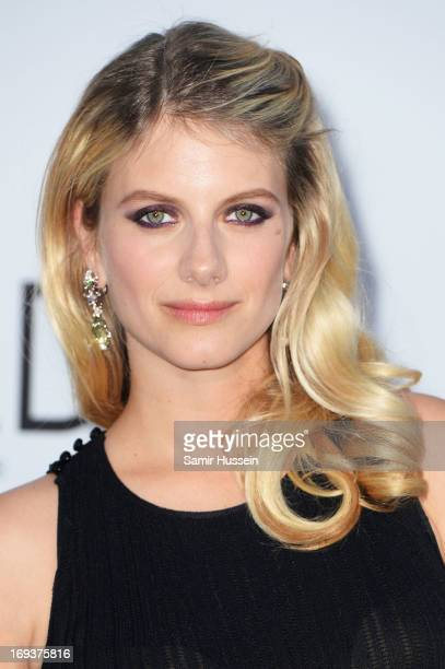 Actress Melanie Laurent attends amfAR's 20th Annual Cinema Against AIDS during The 66th Annual Cannes Film Festival at Hotel du CapEdenRoc on May 23...