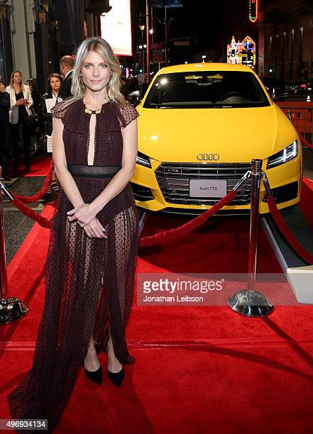 Actress Melanie Laurent attends Audi at the opening night gala premiere of 'By the Sea' during AFI FEST 2015 presented by Audi at TCL Chinese 6...