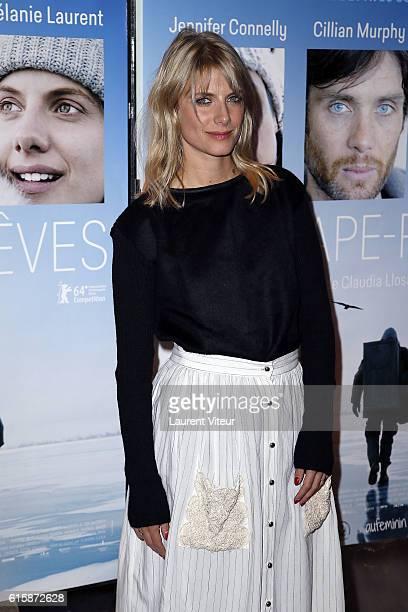 Actress Melanie Laurent attends ' L'AttrapeReves' Paris Premiere at UGC Cine Cite des Halles on October 20 2016 in Paris France