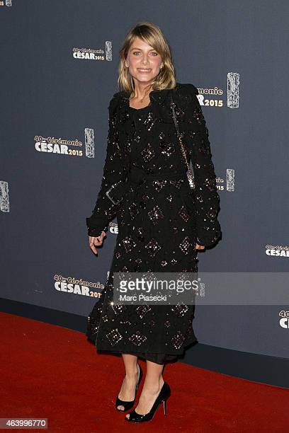 Actress Melanie Laurent attends the Cesar Film Awards at Theatre du Chatelet on February 20 2015 in Paris France
