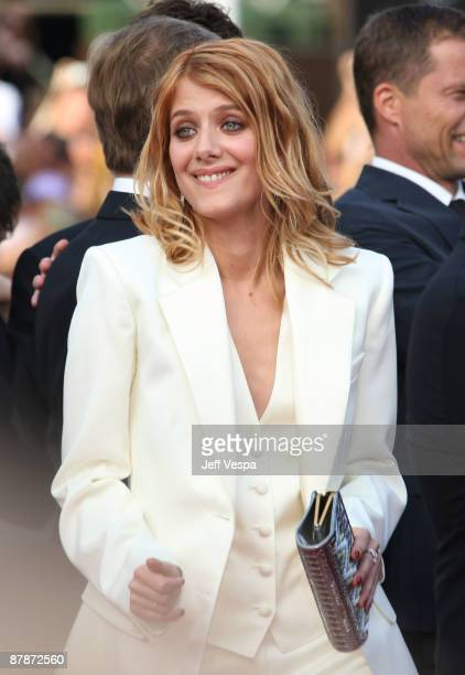 Actress Melanie Laurent attends the 'Inglourious Basterds' Premiere at the Grand Theatre Lumiere during the 62nd Annual Cannes Film Festival on May...