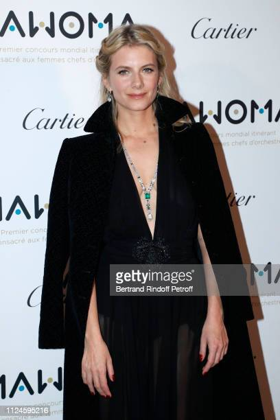 Actress Melanie Laurent attends the Launch of the First Worldwide Itinerant Competition For Women Orchestra Conductors : MAWOMA. Held at Le Grand...