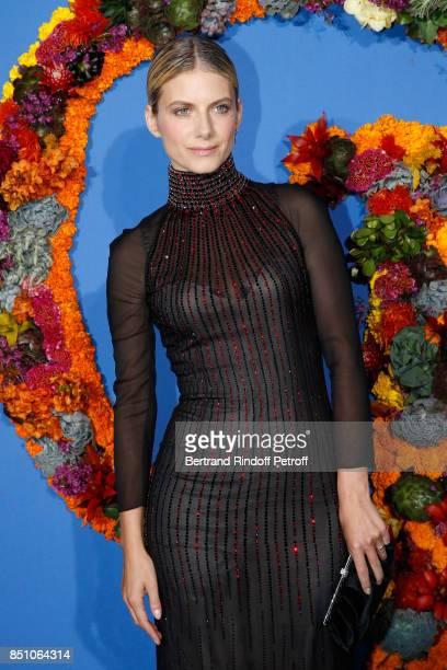 Actress Melanie Laurent attends the Opening Season Gala Ballet of Opera National de Paris Held at Opera Garnier on September 21 2017 in Paris France