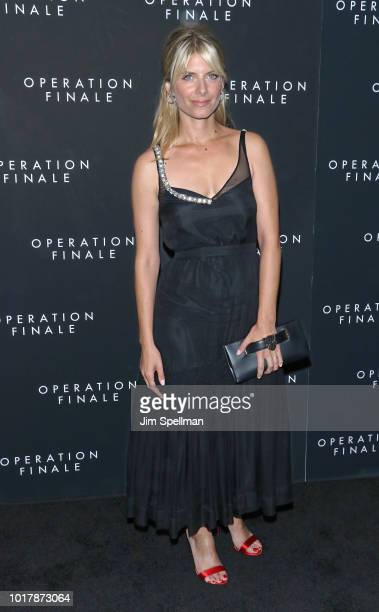 Actress Melanie Laurent attends the 'Operation Finale' New York premiere at Walter Reade Theater on August 16 2018 in New York City