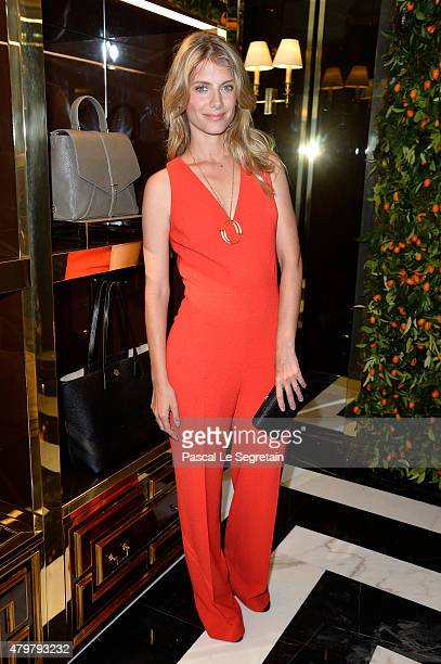 Actress Melanie Laurent attends the Tory Burch Paris Flagship store opening on July 7, 2015 in Paris, France.