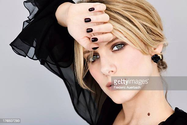Actress Melanie Laurent is photographed for Dior on May 1 2011 in Paris France