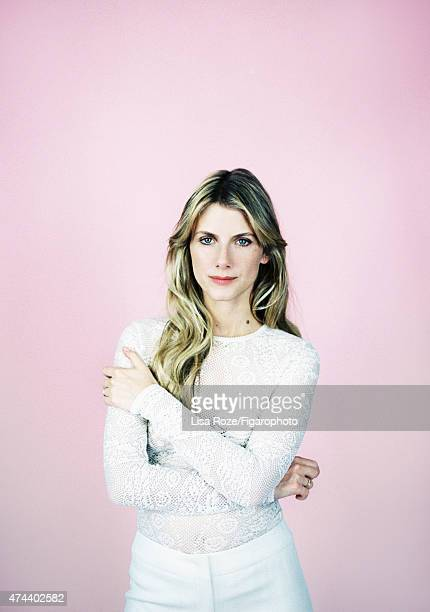 Actress Melanie Laurent is photographed for Madame Figaro on April 20 2015 in Paris France Top pants PUBLISHED IMAGE CREDIT MUST READ Lisa...