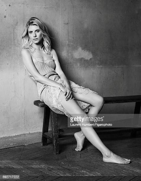 Actress Melanie Laurent is photographed for Madame Figaro on May 25 2016 in Paris France Dress Bee My Love ring PUBLISHED IMAGE CREDIT MUST READ...