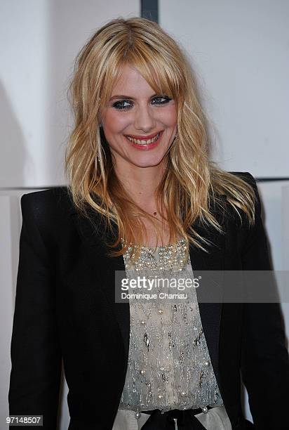 Actress Melanie Laurent poses in Awards Room during 35th Cesar Film Awards at Theatre du Chatelet on February 27, 2010 in Paris, France.