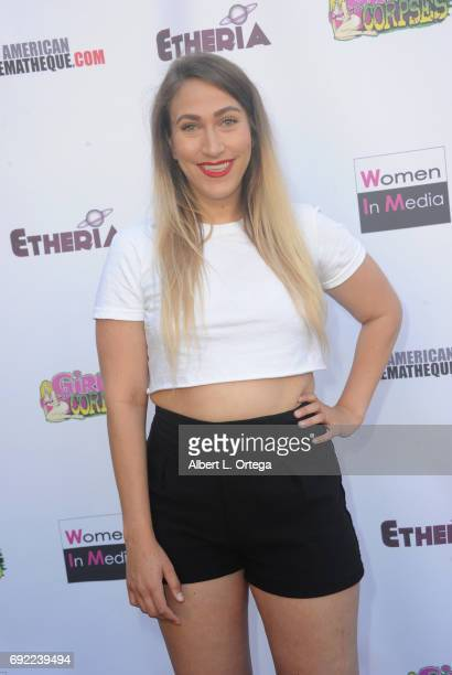 Actress Melanie Leanne Miller arrives for Etheria Film Night held at The Egyptian Theatre on June 3 2017 in Los Angeles California