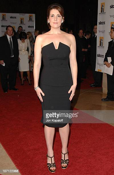Actress Melanie Lynskey arrives at the 13th Annual Hollywood Awards Gala Arrivals at The Beverly Hilton Hotel on October 26 2009 in Beverly Hills...