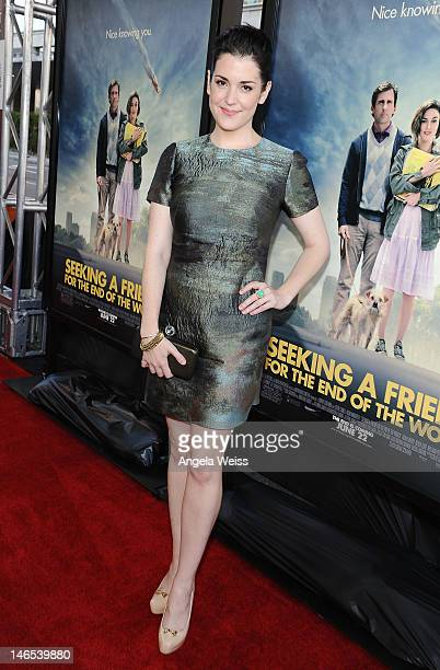 Actress Melanie Lynskey arrives at the premiere of 'Seeking a Friend for the End of the World' at the 2012 Los Angeles Film Festival held at Regal...