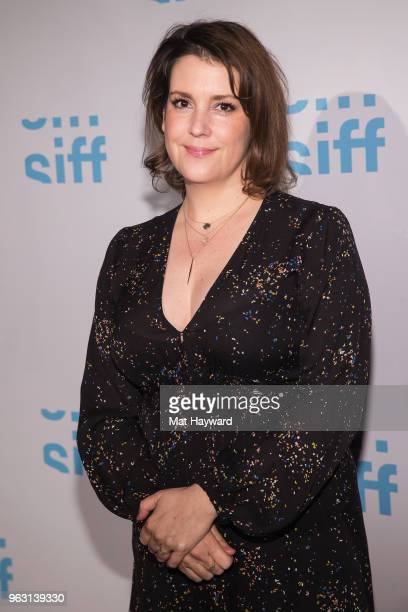 Actress Melanie Lynskey arrives for a screening of the film Sadie during the Seattle International Film Festival at SIFF Cinema Egyptian on May 27...