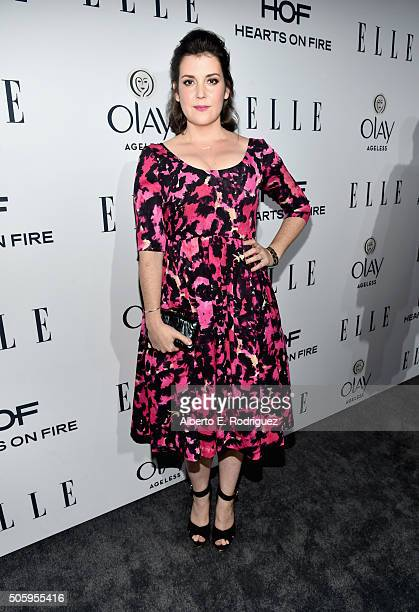 Actress Melanie Lynskey attends ELLE's 6th Annual Women In Television Dinner at Sunset Tower Hotel on January 20 2016 in West Hollywood California