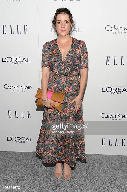 Actress Melanie Lynskey attends the 22nd Annual ELLE Women in Hollywood Awards at Four Seasons Hotel Los Angeles at Beverly Hills on October 19 2015...