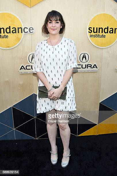 Actress Melanie Lynskey attends the Sundance Institute NIGHT BEFORE NEXT Benefit at The Theatre at The Ace Hotel on August 11 2016 in Los Angeles...