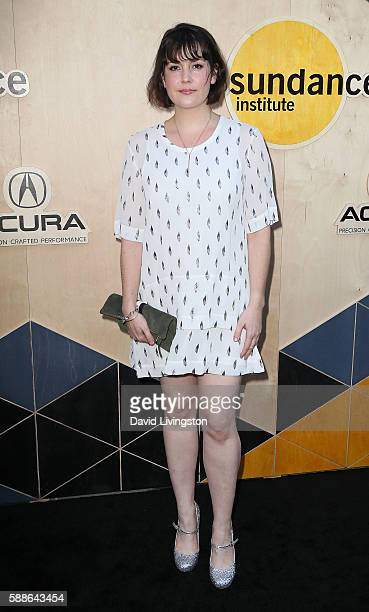 Actress Melanie Lynskey attends the Sundance Institute NIGHT BEFORE NEXT event at The Theatre at The Ace Hotel on August 11 2016 in Los Angeles...
