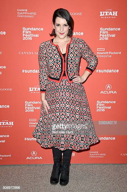 Actress Melanie Lynskey attends the The Intervention Premiere during the 2016 Sundance Film Festival at Eccles Center Theatre on January 26 2016 in...