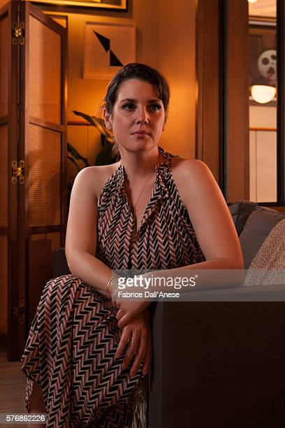 Actress Melanie Lynskey is photographed for Vanity Faircom on April 19 2016 in New York City
