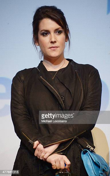 Actress Melanie Lynskey takes part in a QA following the We'll Never Have Paris premiere during the 2014 SXSW Music Film Interactive Festival at the...