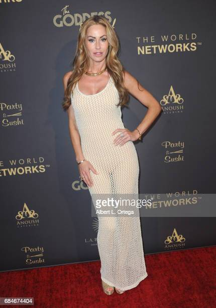 Actress Melanie Marden arrives for The World Networks Presents Launch Of The Goddess Empowered held at Brandview Ballroom on May 17 2017 in Glendale...