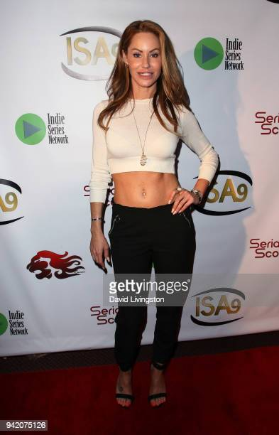 Actress Melanie Marden attends the 9th Annual Indie Series Awards at The Colony Theatre on April 4, 2018 in Burbank, California.