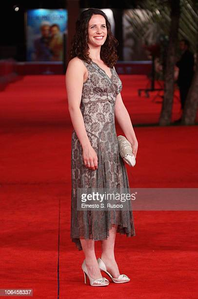 Actress Melanie Munt attends the Little Sparrows premiere during the 5th International Rome Film Festival at Auditorium Parco Della Musica on...