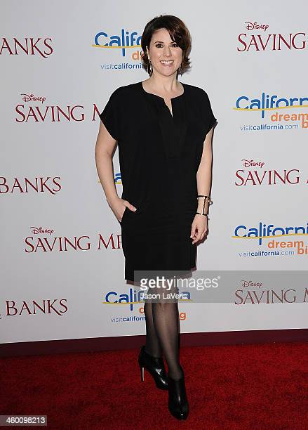 Actress Melanie Paxson attends the premiere of Saving Mr Banks at Walt Disney Studios on December 9 2013 in Burbank California