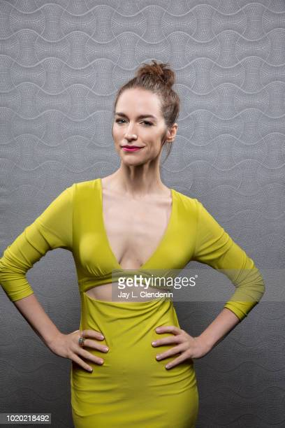 Actress Melanie Scrofano from 'Wynonna Earp' is photographed for Los Angeles Times on July 21 2018 in San Diego California PUBLISHED IMAGE CREDIT...